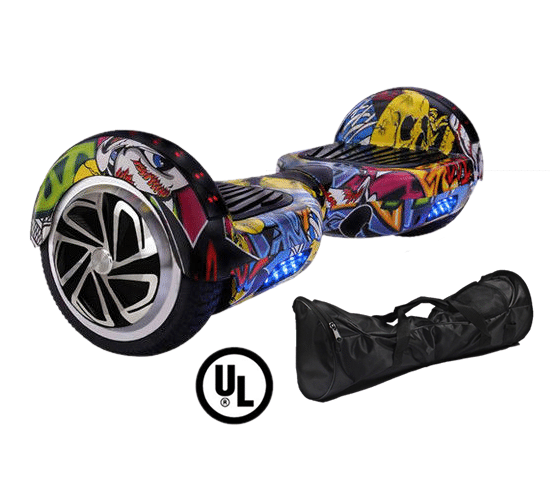 Ul2272 Alien Board Hoverboard Yellow Bluetooth Hoverboard: Newest Model—X6 Bluetooth Hoverboard (Choose From 15