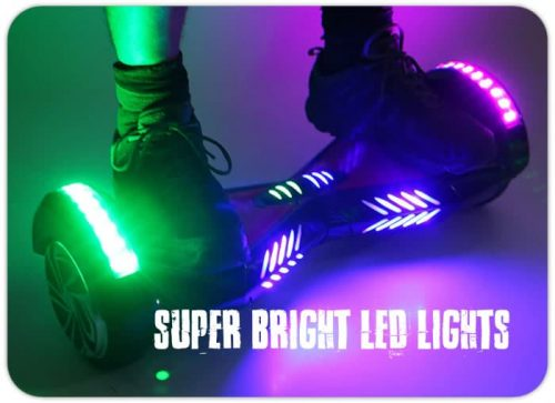 led light hoverboard