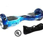 x6 blue galaxy hoverboard bluetooth