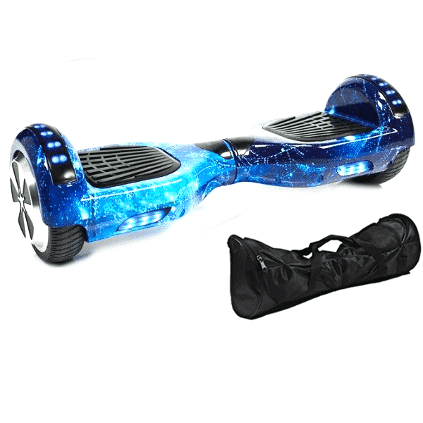 Blue Galaxy New X6 Bluetooth Hoverboard Official Hoverboards Com