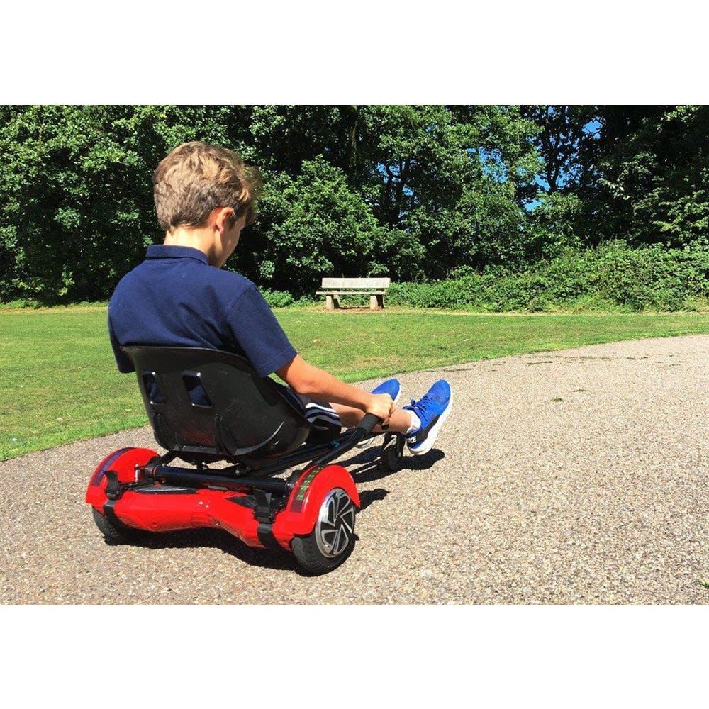 per Il Massimo Comfort Fissaggio Regolabile Universale Hoverkart Luckwing Hoverkart per Hoverboard Compatibile con Tutti Gli Hoverboard Hoverkart Go-Kart Sedia Kart