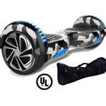 black camo X6 HOVERBOARD TOP