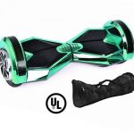 light green chrome x8 hoverboard